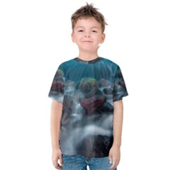 ICELAND CAVE Kid s Cotton Tee