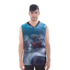 Iceland Cave Men s Basketball Tank Top