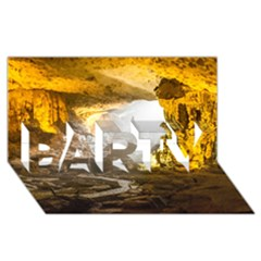 HA LONG BAY PARTY 3D Greeting Card (8x4)