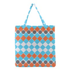 Tribal Pattern Grocery Tote Bags