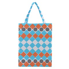 Tribal Pattern Classic Tote Bags
