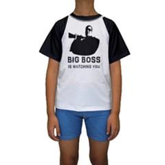BigBoss Kid s Short Sleeve Swimwear