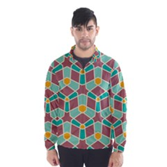Stars and other shapes pattern Wind Breaker (Men)