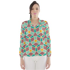 Stars and other shapes pattern Wind Breaker (Women)