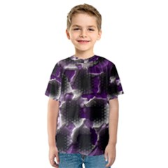 Fading holes Kid s Sport Mesh Tee