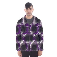 Fading Holes Mesh Lined Wind Breaker (men)