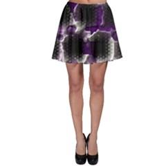 Fading Holes Skater Skirt
