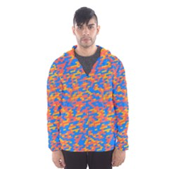 Pixels Mesh Lined Wind Breaker (Men)