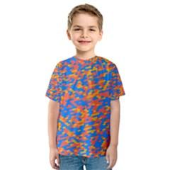 Pixels Kid s Sport Mesh Tee