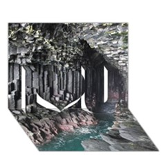 FINGALS CAVE I Love You 3D Greeting Card (7x5)