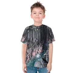 Fingals Cave Kid s Cotton Tee