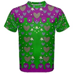 The Brightest sparkling stars Is Love Men s Cotton Tee