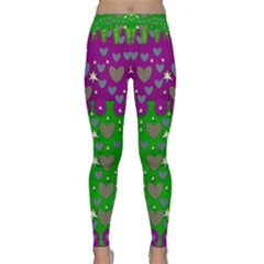 The Brightest sparkling stars Is Love Yoga Leggings