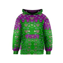 The Brightest sparkling stars Is Love Kid s Pullover Hoodie