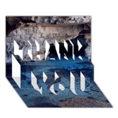 CHAPADA DIAMANTINA 2 THANK YOU 3D Greeting Card (7x5)