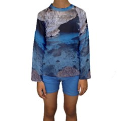 CHAPADA DIAMANTINA 2 Kid s Long Sleeve Swimwear