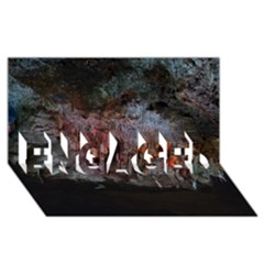 CAVES OF DRACH ENGAGED 3D Greeting Card (8x4)