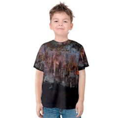 CAVES OF DRACH Kid s Cotton Tee