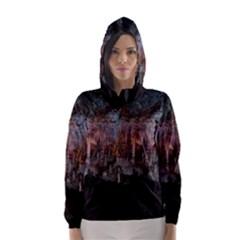 CAVES OF DRACH Hooded Wind Breaker (Women)