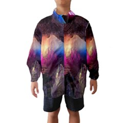 Cave In Iceland Wind Breaker (kids)