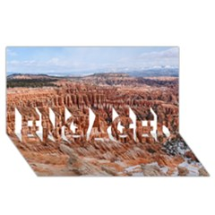 BRYCE CANYON AMP ENGAGED 3D Greeting Card (8x4)