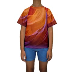 ANTELOPE CANYON 2M Kid s Short Sleeve Swimwear