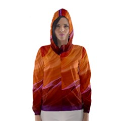 Antelope Canyon 2m Hooded Wind Breaker (women)