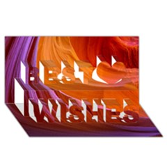 ANTELOPE CANYON 2 Best Wish 3D Greeting Card (8x4)