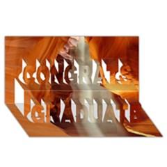 ANTELOPE CANYON 1 Congrats Graduate 3D Greeting Card (8x4)