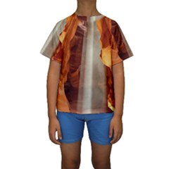 ANTELOPE CANYON 1 Kid s Short Sleeve Swimwear