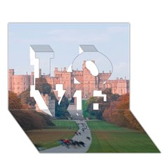 WINDSOR CASTLE LOVE 3D Greeting Card (7x5)
