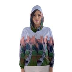 WINDSOR CASTLE Hooded Wind Breaker (Women)