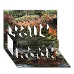 WAKAYAMA GARDEN You Rock 3D Greeting Card (7x5)