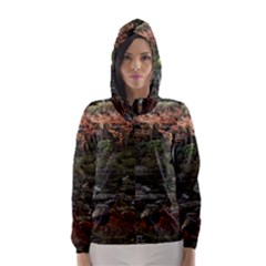 WAKAYAMA GARDEN Hooded Wind Breaker (Women)