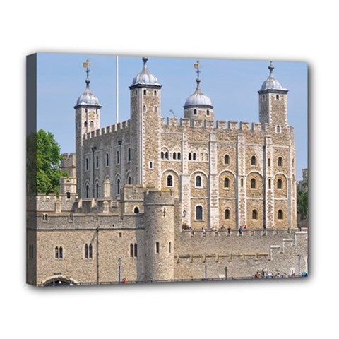 TOWER OF LONDON 2 Canvas 14  x 11