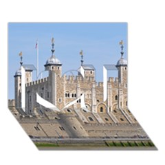 TOWER OF LONDON 2 I Love You 3D Greeting Card (7x5)