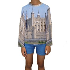 TOWER OF LONDON 2 Kid s Long Sleeve Swimwear