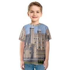 Tower Of London 2 Kid s Sport Mesh Tees