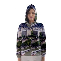 TOWER OF LONDON 1 Hooded Wind Breaker (Women)