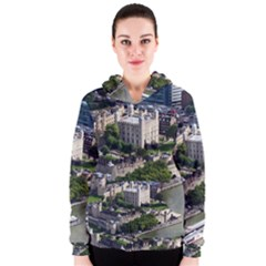 Tower Of London 1 Women s Zipper Hoodies