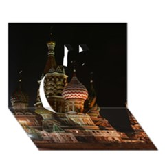 St Basil s Cathedral Apple 3D Greeting Card (7x5)