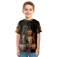 St Basil s Cathedral Kid s Sport Mesh Tees