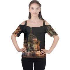 St Basil s Cathedral Women s Cutout Shoulder Tee