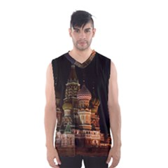 St Basil s Cathedral Men s Basketball Tank Top