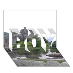 SCOTLAND EILEAN DONAN BOY 3D Greeting Card (7x5)