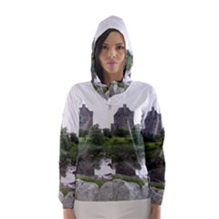 SCOTLAND EILEAN DONAN Hooded Wind Breaker (Women)
