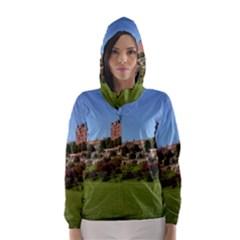 Powis Castle Terraces Hooded Wind Breaker (women)