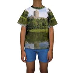 PEMBROKE CASTLE Kid s Short Sleeve Swimwear