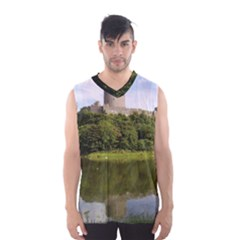 Pembroke Castle Men s Basketball Tank Top