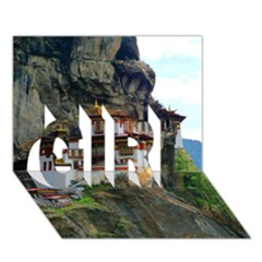 PARO TAKTSANG GIRL 3D Greeting Card (7x5)